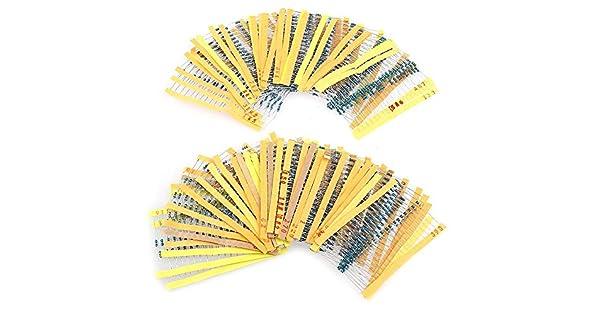 paquete De 30 0,6 W resistencias de película metálica 470r