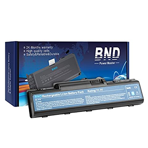 BND Laptop Battery for Acer Aspire 5732Z 4730Z 5735Z 5734Z 4720Z 5740 5738 5735 5542 5536 5738 4520 2930, fits P/N AS07A31 AS09A61 AS07A41 - 12 Months (Aspire 4330 Battery)