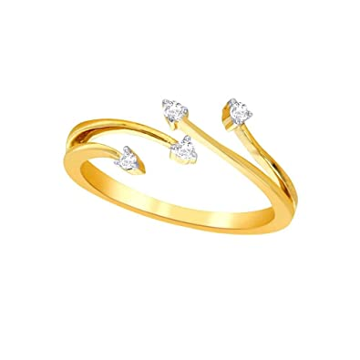 Buy Season of love Lumineux Yellow Gold and Diamond Ring for Women