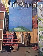 Art in America Magazine March 1990: Giulio…