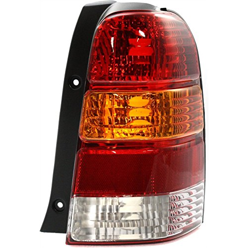 (Tail Light for Ford Escape 01-07 Lens and Housing Right Side)
