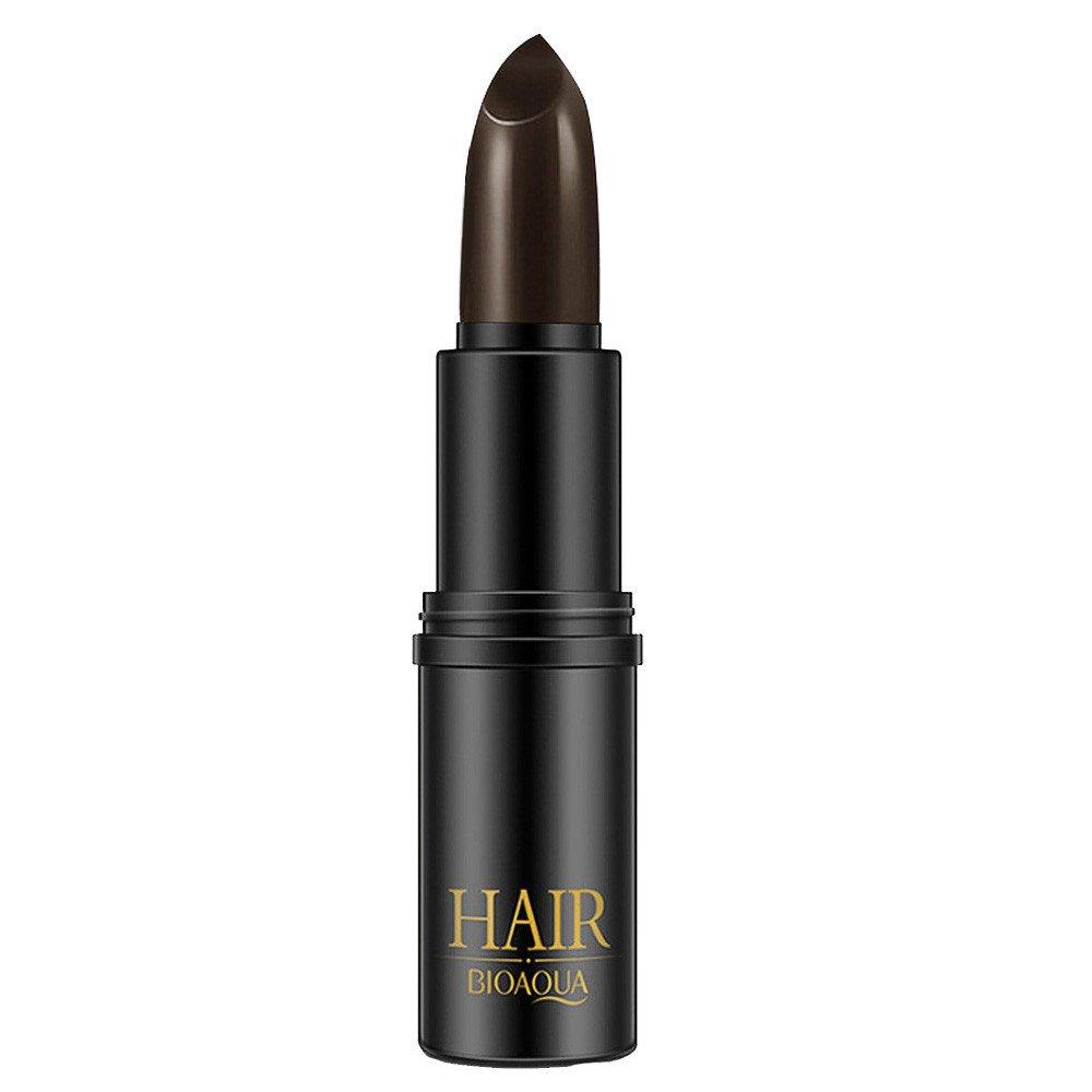Hunputa Hair Color Pen New Fast Temporary Hair Dye To Cover White Hair Dyed Hair Pen (Brown)