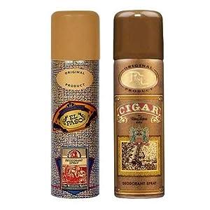 Lomani Remy Latour Cigar and El Paso Deodorant Spray, 200 ml (Pack of 2)