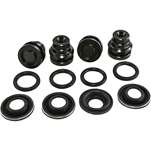 Eckler's Premier Quality Products 25-110700 - Corvette Rear Brake Caliper O-Ring Piston Conversion Kit