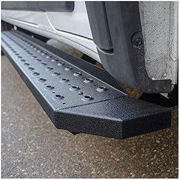 3500 LUVERNE 584100-570744 O-Mega II Black Aluminum 100-Inch Freightliner 36-Inch Cargo Van Side Steps 100 for for Select Dodge Mercedes-Benz Sprinter 2500