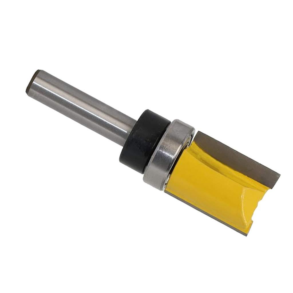 8mm Schaft Kugellager Oben 2# SM SunniMix B/ündigfr/äser Nutfr/äser Holzschneider Profifr/äser aus Hartmetall inkl