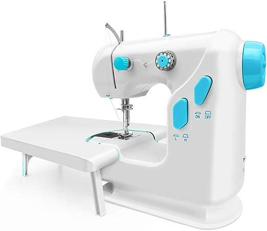 HLONGG Máquina de Coser para Principiantes Needleworkmachine con ...