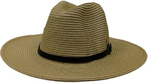 Panama Jack Classic Braid Safari Hat (Natural)