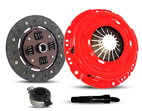 Clutch Kit Works With Volkswagen Beetle Fastback Karmann Ghia Base Sedan Convertible 211 215 261 265 1970-1979 1.6L H4 GAS Naturally Aspirated (Stage 1; Flywheel Spec: -0.83; From 9/70) ()