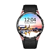 KW88 Smart Watch Support 3G network Android 5.1 Fitness Watch OGS Capacitive Screen Round Dial Smartwatch