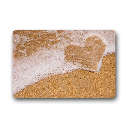 beach themed bathmat