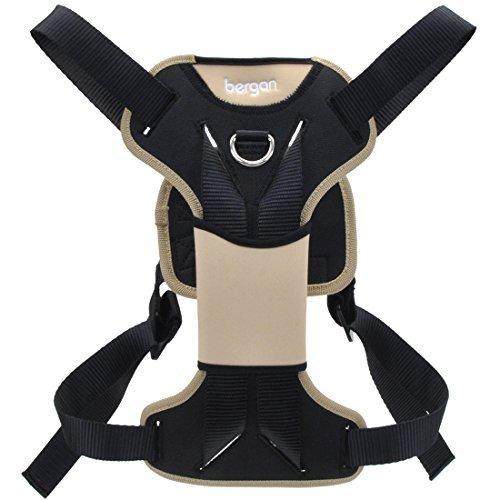 Bergan Auto Dog Harness Extra Large-tan/black 80-150lbs by Bergan