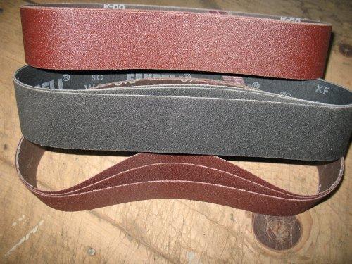 Econaway Abrasives BASIC ALUMINUM OXIDE 2X28 9 Piece Abra...