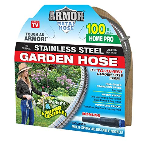 Stainless Steel Metal Hose (100' Armor Home Pro) ()