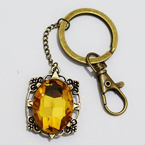Bonnie Bennett Keychain – The Vampire Diaries Keychain – Charm Keychain Jewelry – Charm Keychain