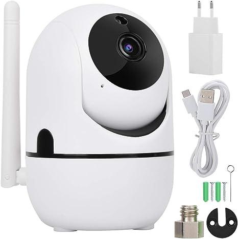 Amazon Com Zouminy Cámara De Seguridad 720p 1080p Hd Inalámbrica Wifi Cámara Ptz Cámara De Seguridad Pista Automática Sistema De Vigilancia Hd Enchufe 1080p Ue Home Kitchen