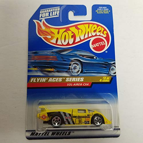 Sol-Aire CX4 Flyin' Aces Series 3 of 4 1998 Hot Wheels 1/64 diecast car No. 739
