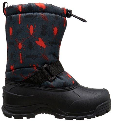 Boot Black Northside Snow Red Frosty RwzxXqxEa