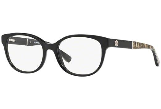 3de08feef1a Michael Kors RANIA III MK4032 Eyeglass Frames 3168-49 - Black MK4032-3168-