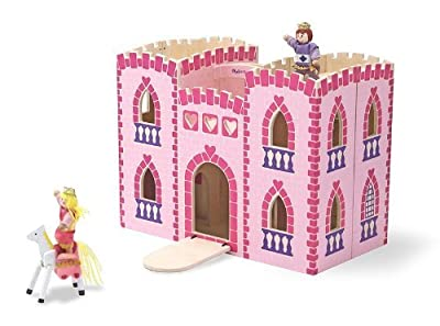 Melissa & Doug Children's Fold & Go Princess Castle