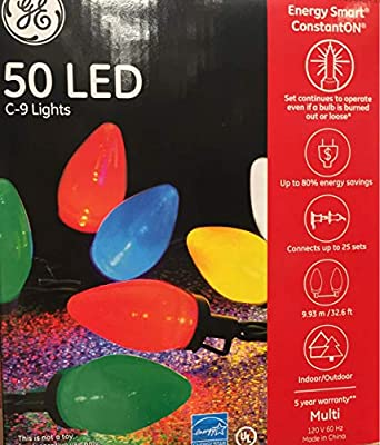 Sylvania Stay-Lit Platinum LED Indoor/Outdoor Christmas String Lights