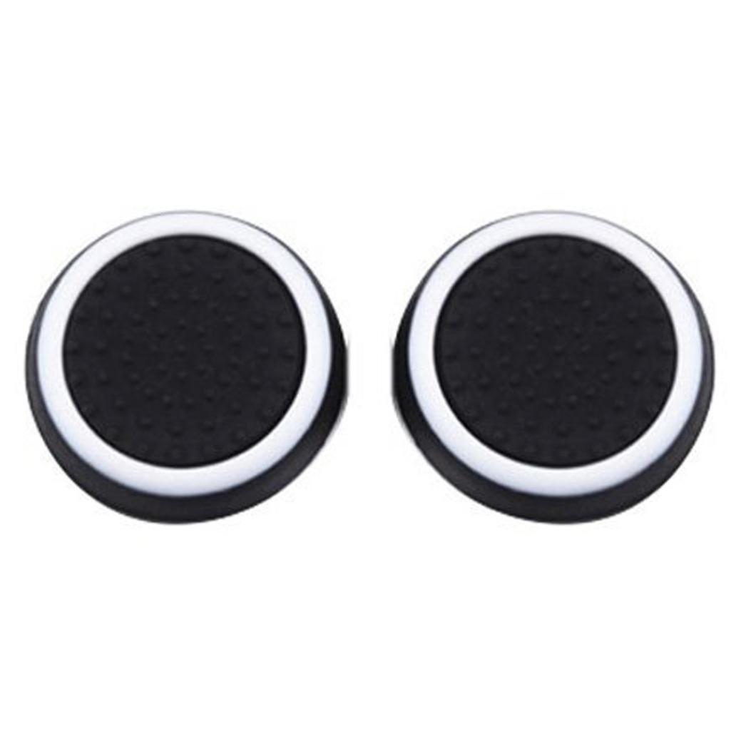 Sannysis 1 Pairs Luminous Silicone Gel Thumb Grips Caps for Nintendo Switch Controller (D) by Sannysis (Image #1)