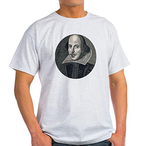 CafePress Wm Shakespeare 100% Cotton T-Shirt Ash Grey