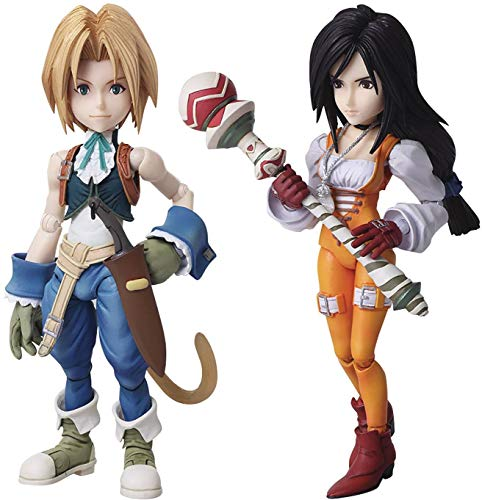 Square Enix Final Fantasy IX: Zidane & Garnet Bring Arts Action Figure Set