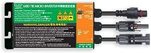 Solar Grid Tie Micro Inverter 260W 300W 350W DC18V-50V to AC110V-230V 50HZ/60HZ, Practical and Durable