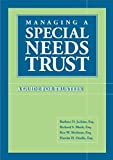 Managing A Special Needs Trust