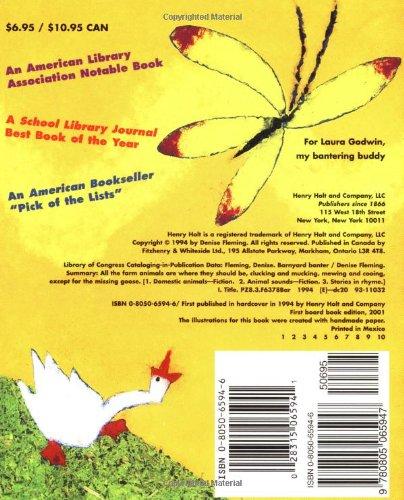 Amazon.com: Barnyard Banter Board Book (9780805065947): Denise ...