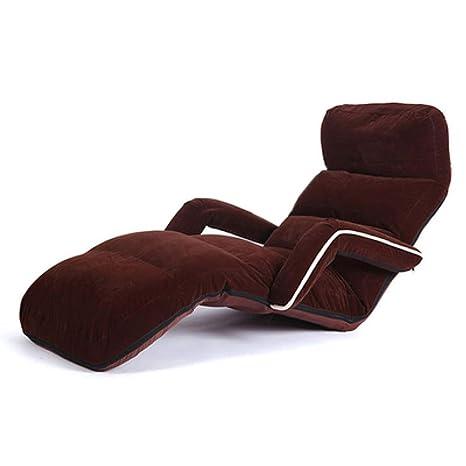 Amazon.com: HongTeng Lazy Couch Tatami - Sofá de tela con ...