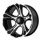 XD-Series  Crank Wheel with Matte Black Machined (18x9''/5x5.5'')