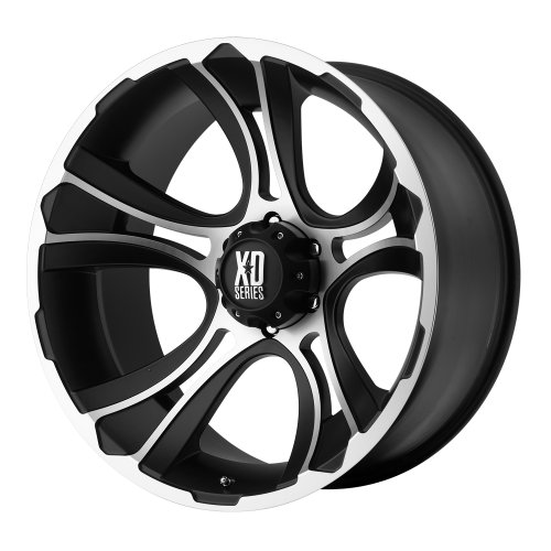 "XD-Series Crank Wheel with Matte Black Machined (18x9""/6x135mm)"