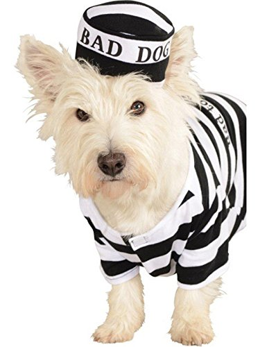 Rubie's Pet Costume, Medium, Prisoner]()