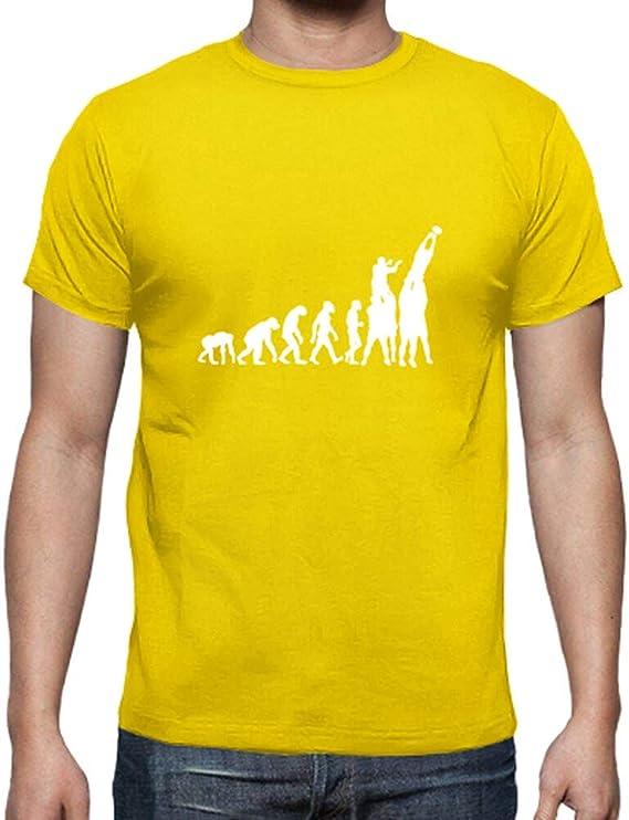 latostadora - Camiseta Evolucion del Rugby para Hombre: Bibine: Amazon.es: Ropa y accesorios