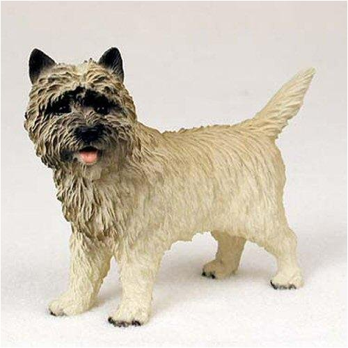 Cairn Terrier, Red Original Dog Figurine (4in-5in)