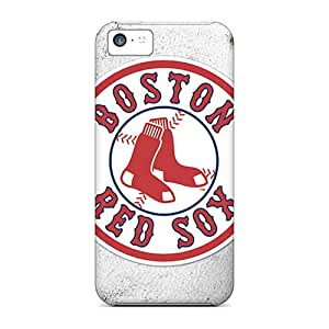 Shock-Absorbing Cell-phone Hard Covers For Iphone 5c (rbd5720UoKb) Support Personal Customs Colorful Boston Red Sox Pictures