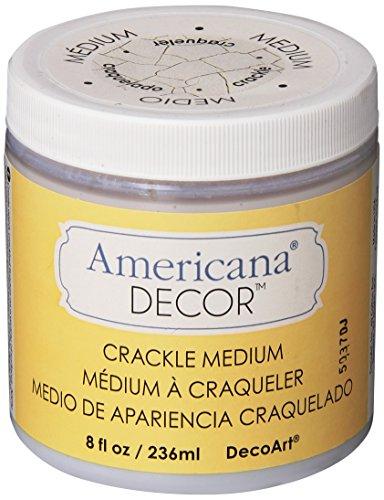 - DecoArt Crackle Medium, 8-Ounce, Clear