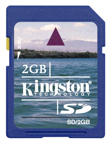 Kingston Technology 2GB SD Card 2GB SD Memoria Flash - Tarjeta de Memoria (SD, Azul, -25-85 °C, -40-80 °C, 24 x 32 x 2,1 mm, 9-Pin SecureDigital (SD))
