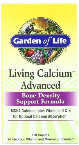 Garden of Life Vivre calcium avancée densité osseuse Support Formula, 120 gélules