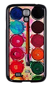 Generic High Quality Snap On Fine Art Paint Color Box Design Polycarbonate (PC) Hard Cellphone Case Back Skin Cover Protector For Samsung Galaxy S4 I9500 by runtopwell