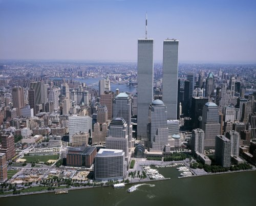 Tower World (The World Trade Center Twin Towers Photo New York City NYC Architecture Photos 8x10)