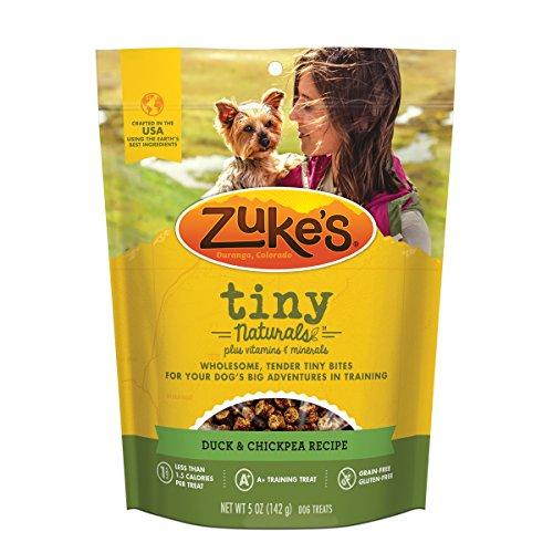 ZukeS Tiny Naturals Duck & Chickpea Recipe Dog Treats - 5 Oz. Pouch