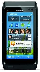 Nokia N8 16GB Unlocked GSM 3G 12MP Camera Smartphone w/ Carl Zeiss Optics - Dark Gray