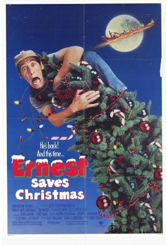 ernest saves christmas poster 27x40 jim varney douglas seale oliver clark - Ernest Saves Christmas