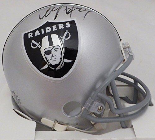- Marshawn Lynch Autographed Oakland Raiders Mini Helmet ML Holo