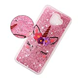 Glitter Case for Samsung Galaxy J6 Plus 2018,QFFUN