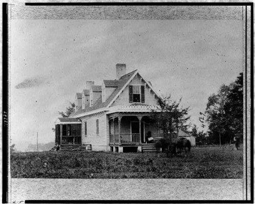 Photo  Haxalls House  Used As Hospital  Battle Of White Oak Swamp  American Civil War   Size  8X10