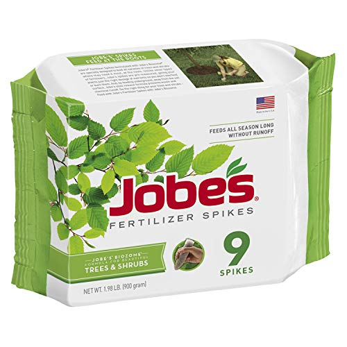 Jobe's Tree & Shrub Fertilizer Spikes, 9 Spikes